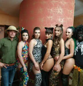 Закрытая вечеринка в Африканском стиле
